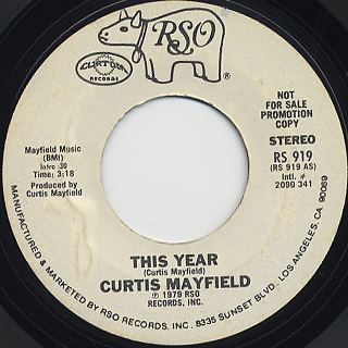 Curtis Mayfield / This Year