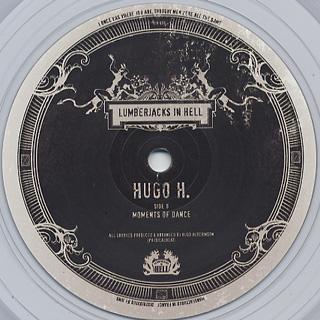 Hugo H a.k.a Hugo Hutchinson / Chante vs James EP back