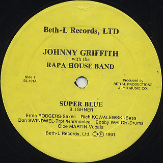 Johnny Griffith with the Rapa House Band / Super Blue