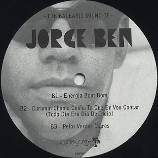 Jorge Ben / The Balearic Sound Of… back