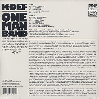 K-DEF / One Man Band back