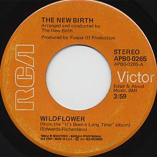 New Birth / Wild Flower c/w Got To Get A Knutt