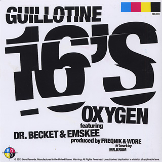 Oxygen / The Process & Guillotine 16's back