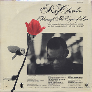Ray Charles / Through The Eyes Of Love (Sealed) back