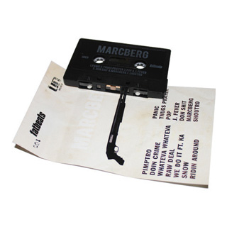 Roc Marciano / Marcberg (Cassette Tape) label