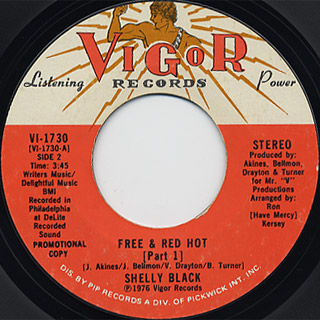 Shelly Black / Free & Red Hot