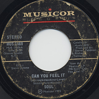 Soul / Can You Feel It c/w Love, Peace and Power