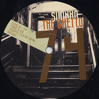 Suonho / The Ghetto 74&77 back