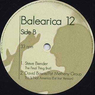 V.A. / Balearica 12 back