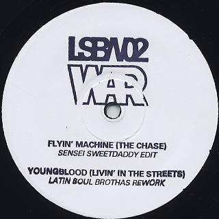 War / Flying Machine Youngblood Edits