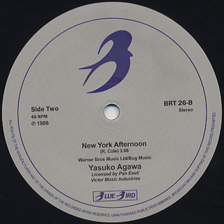 Yasuko Agawa / L.A. Nights back