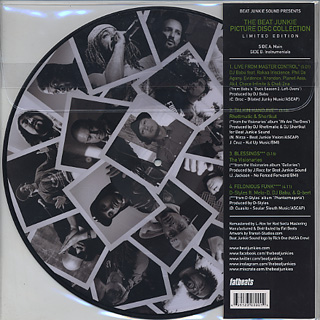 Beat Junkies / Picture Disc Collection back