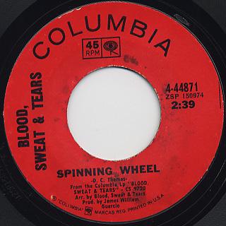 Blood, Sweat & Tears / Spinning Wheel