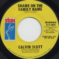 Calvin Scott / Shame On The Family Name