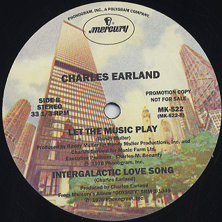 Charles Earland / Over And Over back