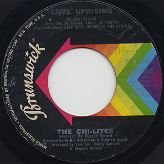 Chi-Lites / I Want To Pay You Back back