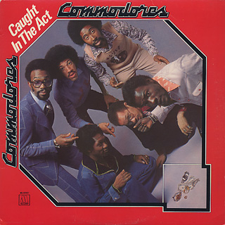 Commodores / Caught In The Act front