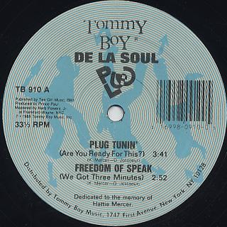 De La Soul / Plug Tunin