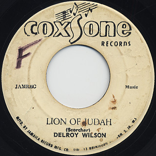Delroy Wilson / Lion Of Judah