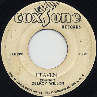 Delroy Wilson / Lion Of Judah back