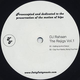 DJ Rahaan / The Re-Jigs Volume 1 back