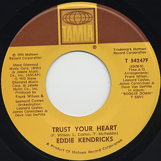 Eddie Kendricks / Son Of Sagittarius back