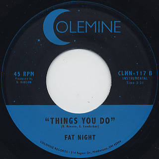 Fat Night / Things You Do