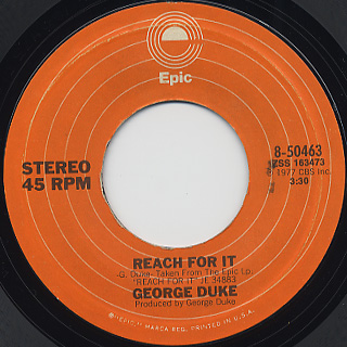 George Duke / Reach For It (Dance) front