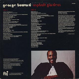George Howard Asphalt Gardens Lp Palo Alto Jazz 中古