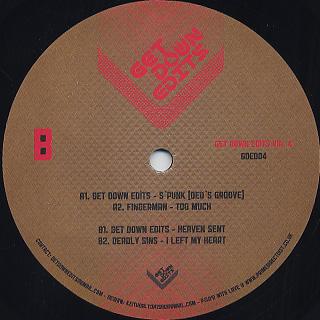 Get Down Edits / Get Down Edits Vol.4 back