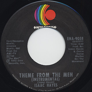 Isaac Hayes Theme From Shaft Cafe Regios