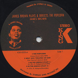 James Brown / James Brown Plays & Directs The Popcorn label