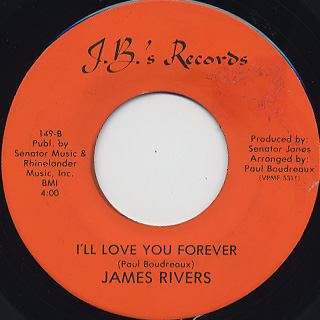 James Rivers / Dance The Night Away back