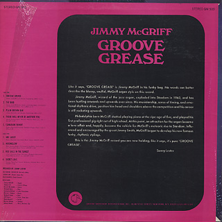 Jimmy McGriff / Groove Grease back