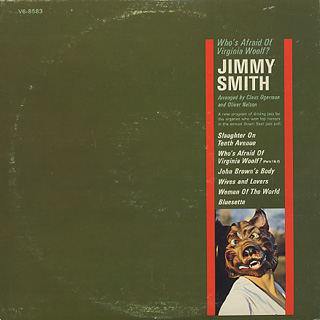 Jimmy Smith / Who's Afraid Of Virginia Woolf? back