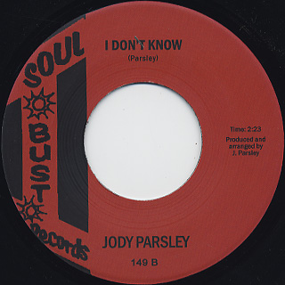 Jody Parsley / This Is Me back