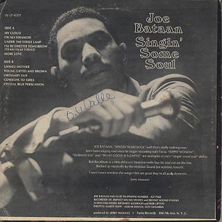 Joe Bataan / Singin' Some Soul back