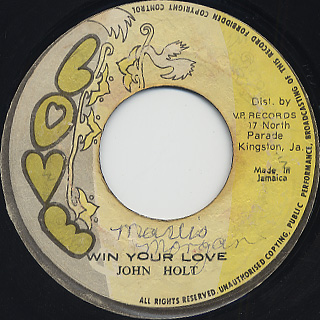 John Holt / Win Your Love