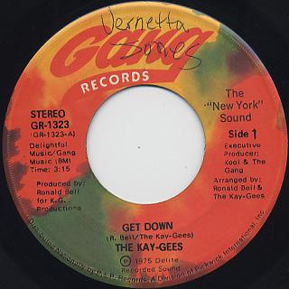 Kay-Gees / Get Down