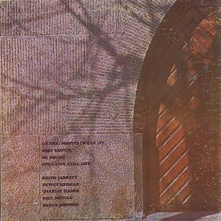 Keith Jarrett / Fort Yawuh back