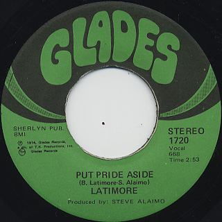 Latimore / Put Pride Aside