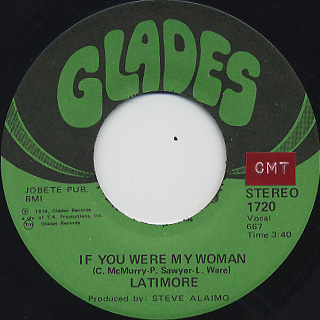 Latimore / Put Pride Aside back