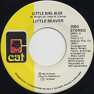 Little Beaver / Little Girl Blue