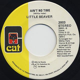 Little Beaver / Little Girl Blue back