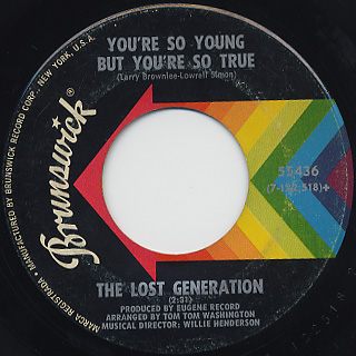 Lost Generation / The Sly, Slick, And The Wicked back