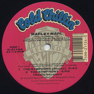 Marley Marl / The Symphony front