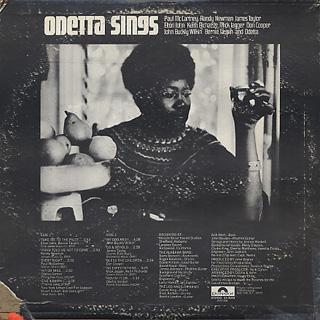 Odetta / Odetta Sings back