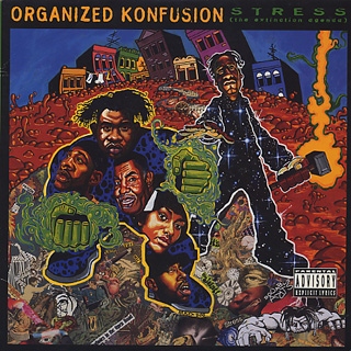 Organized Konfusion / Stress: The Extinction Agenda front