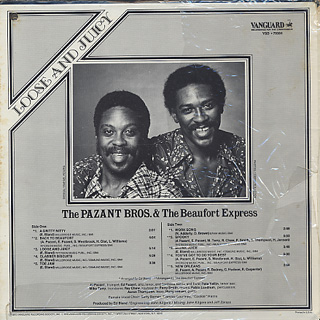 Pazant Bros. & The Beaufort Express / Loose And Juicy back