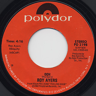 Roy Ayers / Turn Me loose back